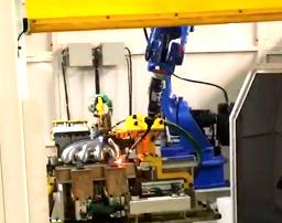 机器人铝焊