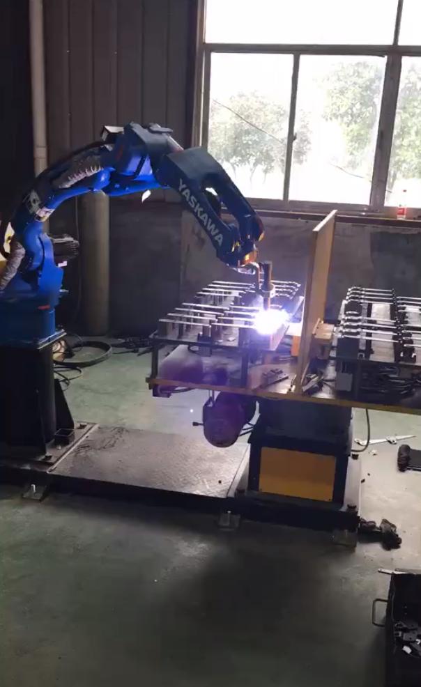机器人氩弧焊接